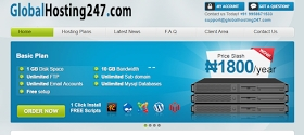 Host Your Website With GlobalHosting247.com