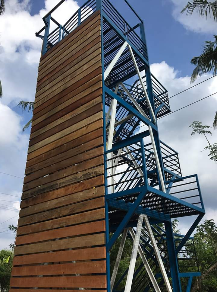 Wall Climbing and Rapelling in Bolinao Zipline