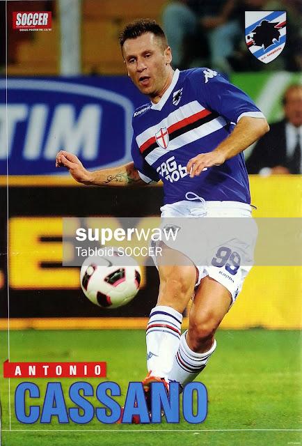 Antonio Cassano (Sampdoria 2010)