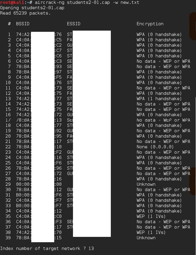 WPA/WPA2 cracking using Dictionary attack with Aircrack-ng - Kali
