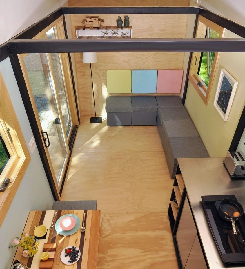 Most Creative Flooring Ideas For Your Modern Home: 80+ Most Inspiring Tiny Houses On Wheels