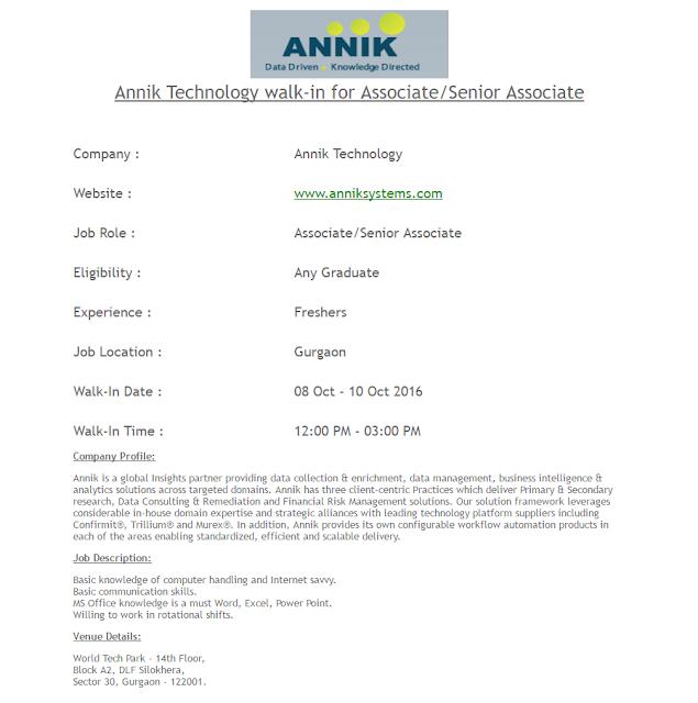 Annik Technology walk-in