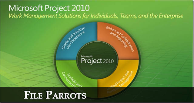 Download Microsoft Project Professional 2010 Free Logo Image