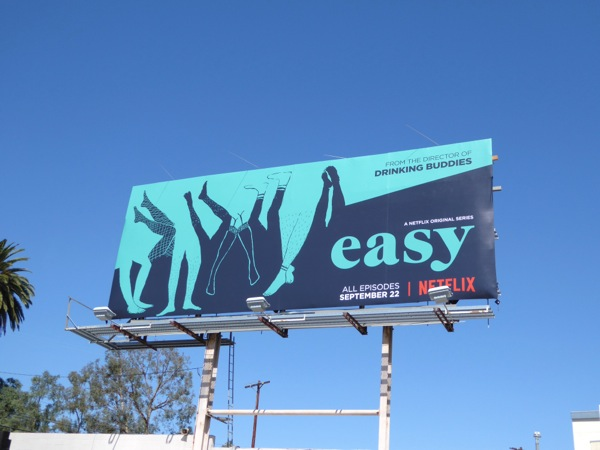 Easy series premiere Netflix billboard