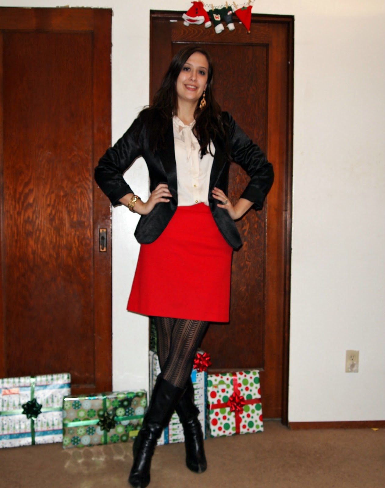 The Closet Intervention What I M Wearing Modern Day Mrs Claus