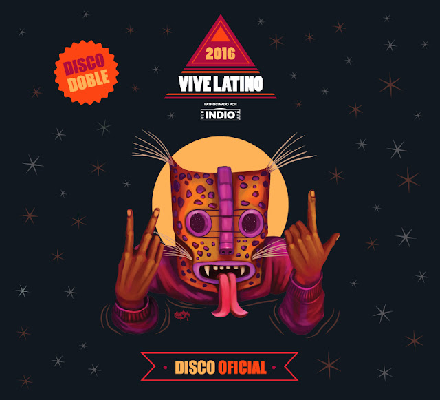 Disco Oficial del Vive Latino 2016