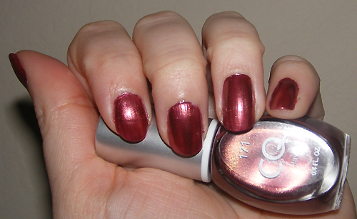 xoxoJen's swatch of CQ - Java