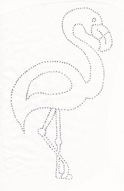 Flamingos Em Feltro Com Moldes Para Imprimir Como Fazer