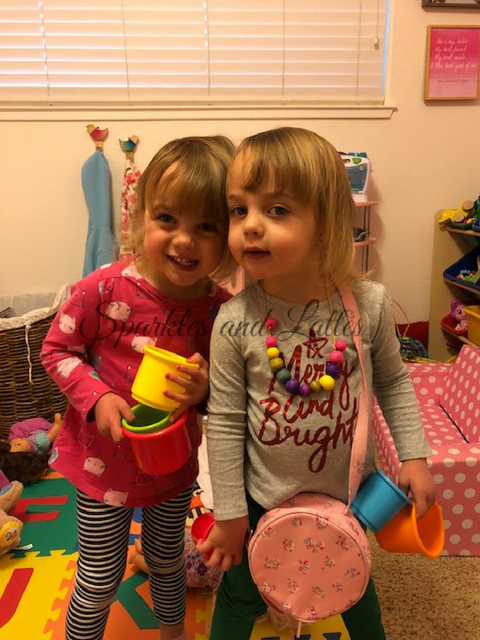 identical twin toddlers