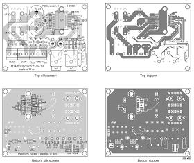 AmplifierCircuits com: TDA8922 Audio Amplifier 2 x 25W