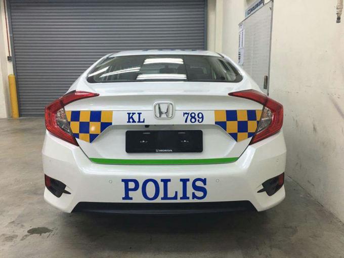 PDRM Bakal Guna Honda Civic 2016 Kereta Peronda?