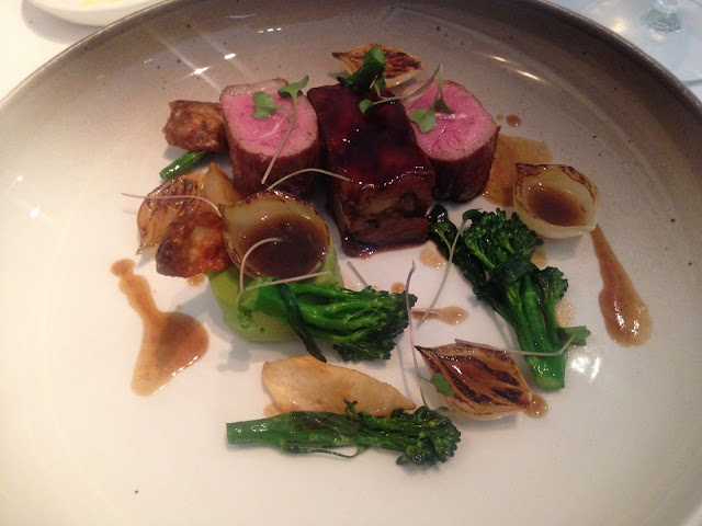 Lamb with  Broccoli & Jerusalem Artichoke