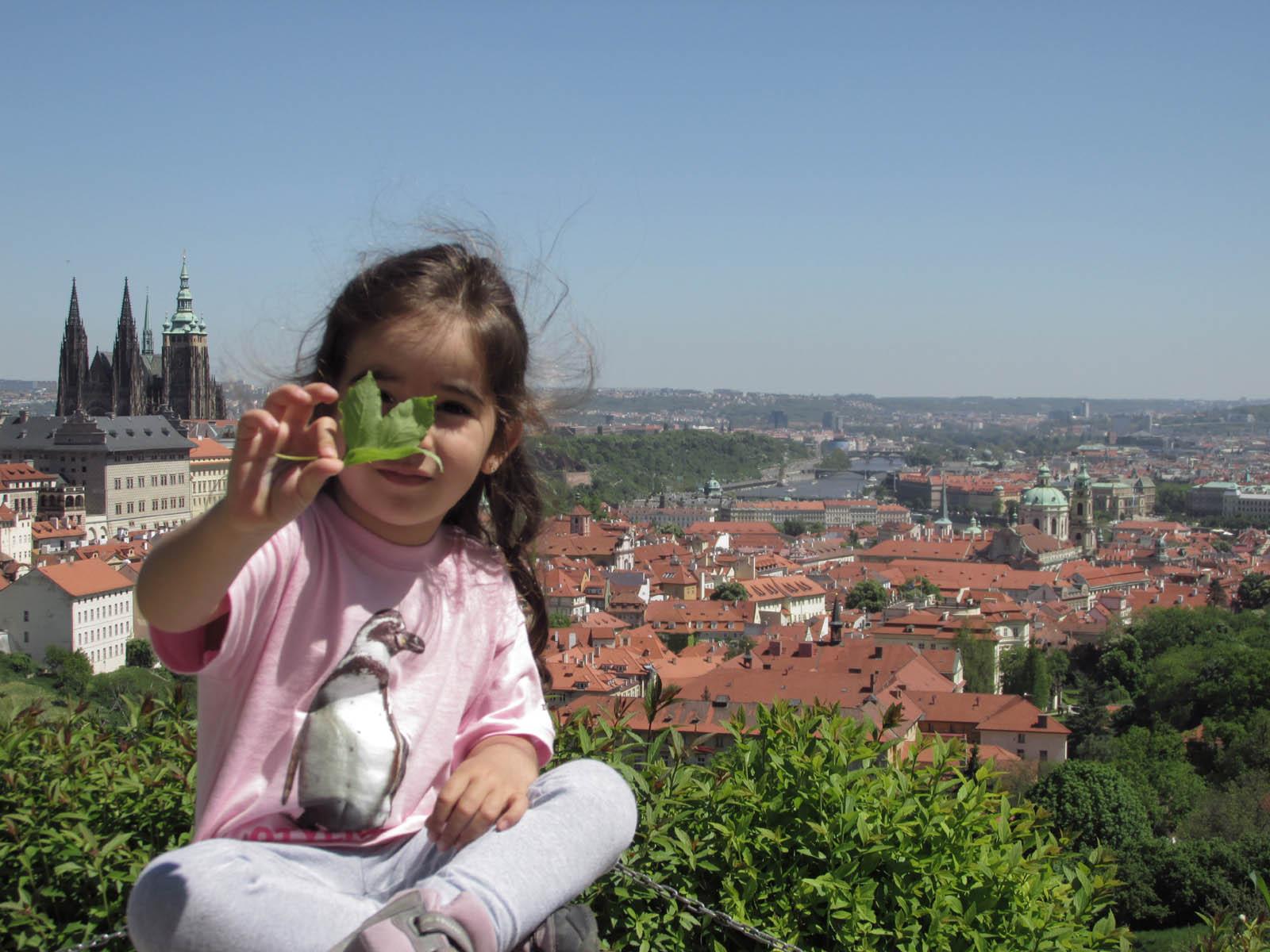 Praga com criança