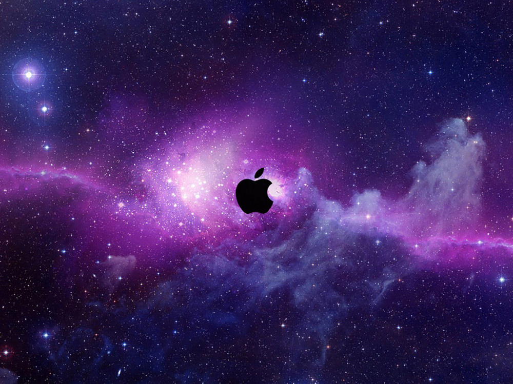 Wallpaper Apple HD Logo Keren
