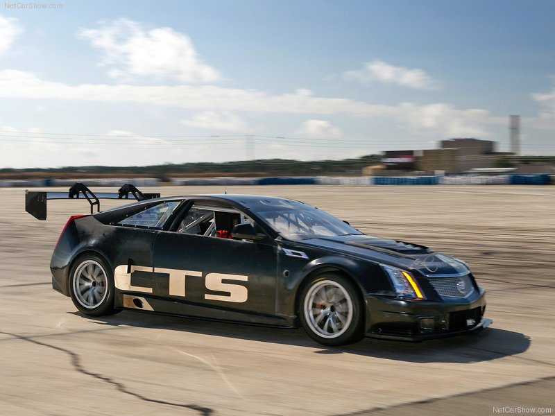 2011 cadillac cts v coupe race car the car club. Black Bedroom Furniture Sets. Home Design Ideas
