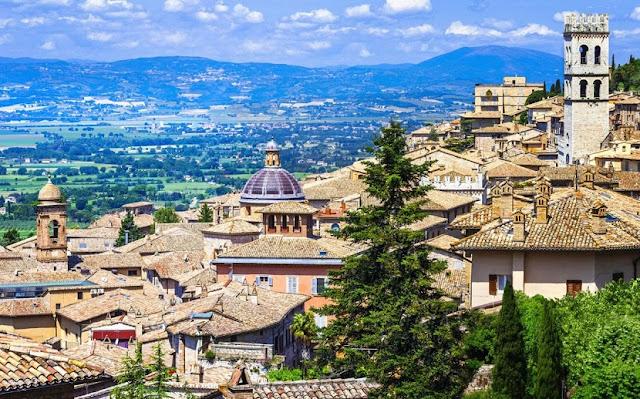 Umbria na Itália