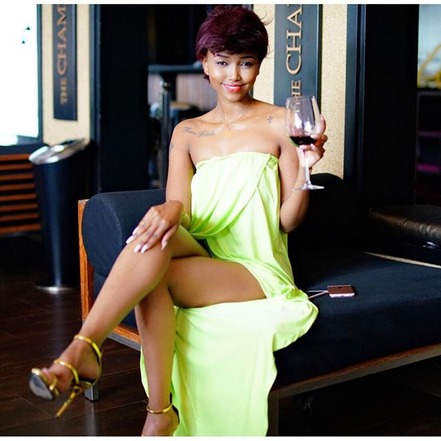 See Photos:Huddah Shows Off Her Amazing $Exy Body With Her Topless ...