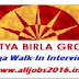 Aditya Birla Group Mega Walk-In Interview for Freshers As Graduate Engineer Trainee On 26 June 2016 at Kolkata