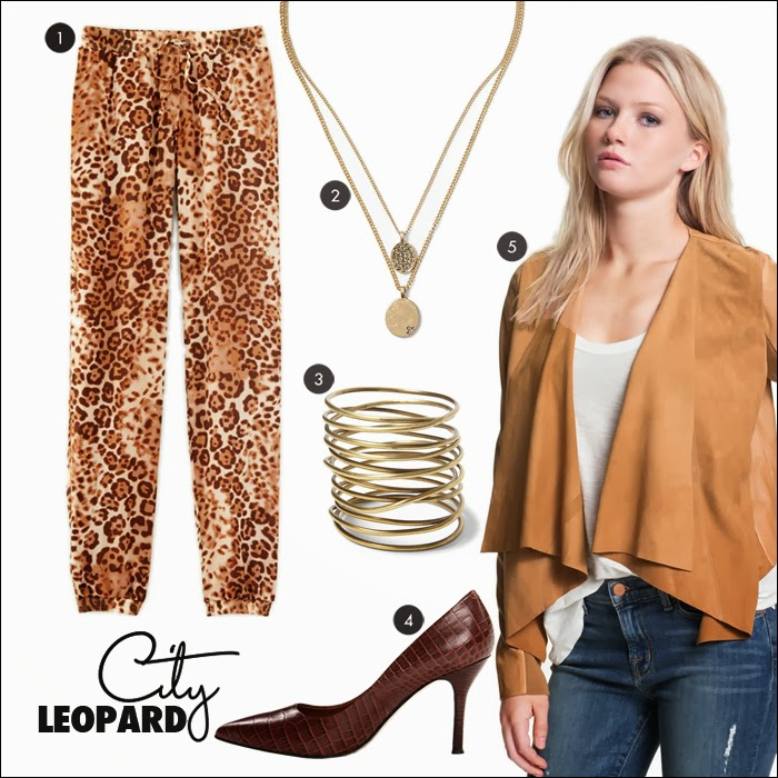 track pants, leopard, croc pumps, leather jacket, nordstrom, eva mendes, new york and company, piperlime, kenneth cole, fashion, style, trends