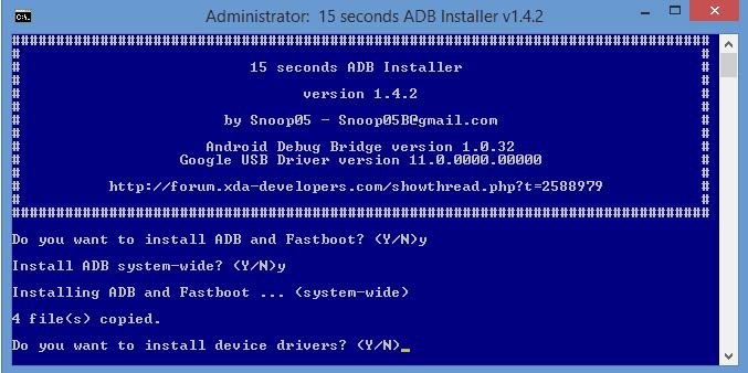 Cara Install ADB, Fastboot dan Driver Android Dengan Cepat