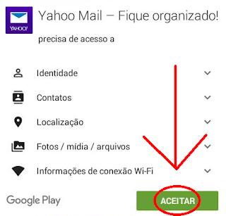 Criar email do Yahoo pelo telefone