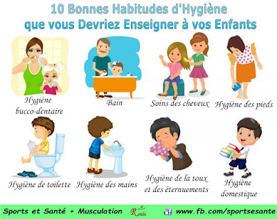 10 Bonnes Habitudes d'Hygiène que vous Devriez Enseigner à vos Enfants