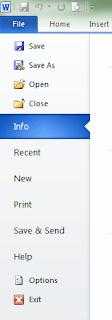 Cara Merubah Ukuran Inchi Menjadi Centimeter Pada Microsoft Office
