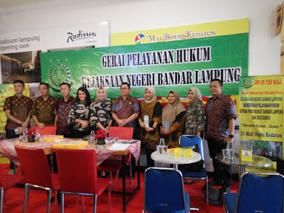 Kejaksaan Negeri Bandar Lampung Buka Gerai Pelayanan Hukum Gratis