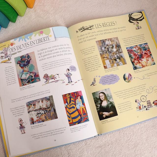 Livre art pour enfants