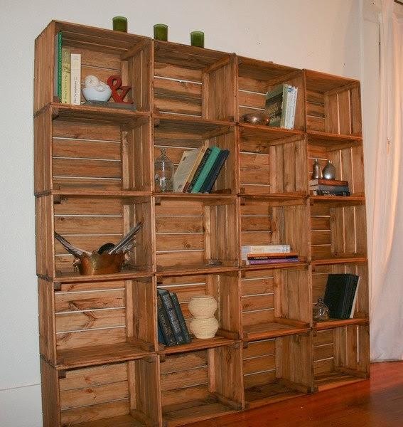 Wakan Wood Artesanato Xamânico ~ Artesanato com Caixotes de Madeira Reciclados