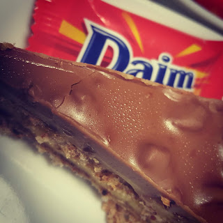 Daim Bar Cake on our January Date in Ikea