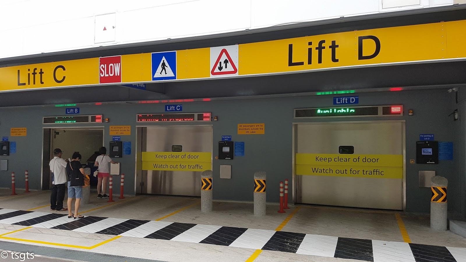 Mechanised Car Park Changi Village