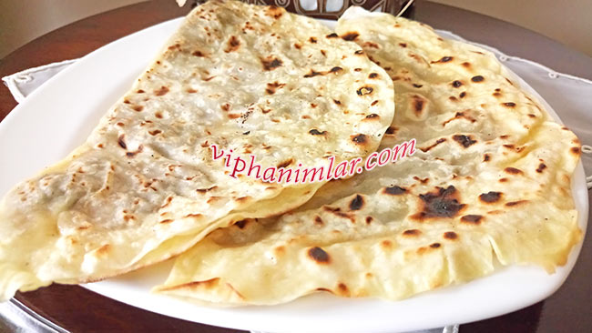 Patlıcanlı Sac Böreği - www.viphanimlar.com