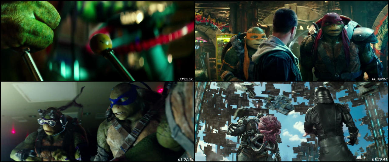 Teenage Mutant Ninja Turtles: Out of the Shadows 2016