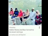 JAHATNYA POLAPIKIR PENDUKUNG PENISTA AGAMA: Foto HABIB RIZIEQ & Keluarga difitnah sebagai foto bersama 6 isteri