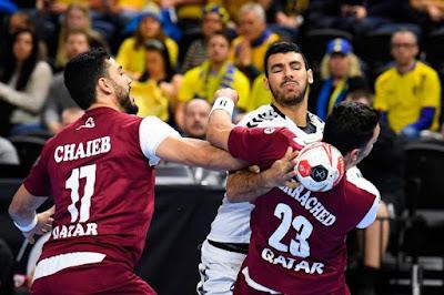 منتخب اليد ....يحافظ على آمال التأهل في مونديال اليد بفوز مثير على الأرجنتين