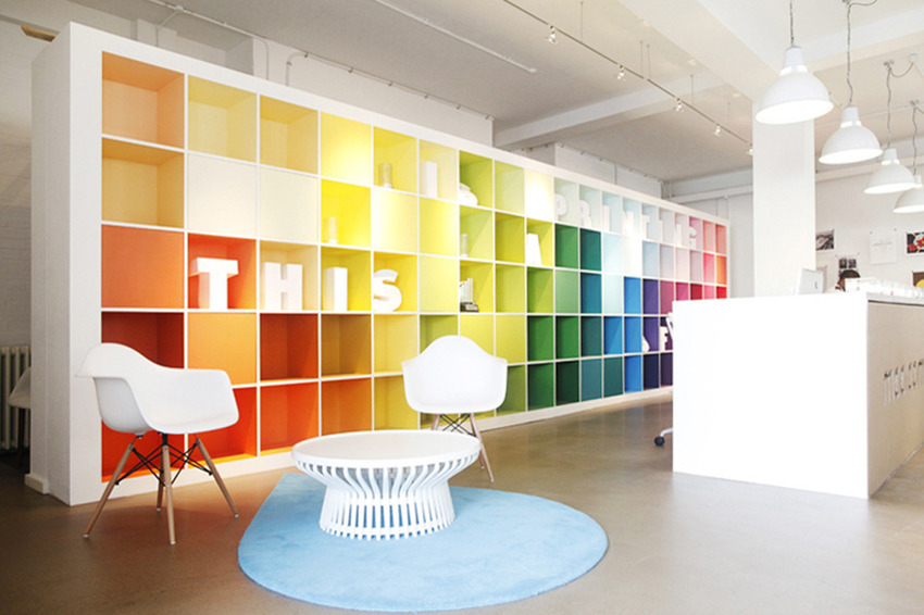The Well-Appointed Catwalk Rainbow Architecture  Interiors