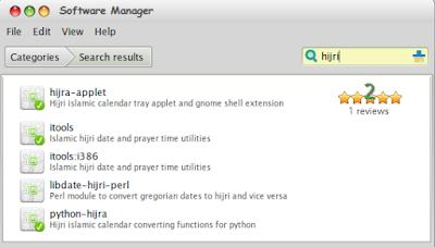 Hijra Applet - Menampilkan Kalender Islam di Panel Linux