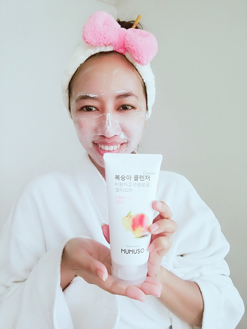 MUMUSO Korea Peach Moisturizing Cleanser