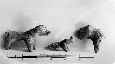 हड़प्पा सभ्यता पशु की मिट्टी की मूर्तियां