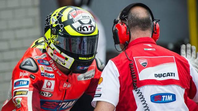 Aleix Espargaro kagum pada helm merek KYT buatan produksi Indonesia