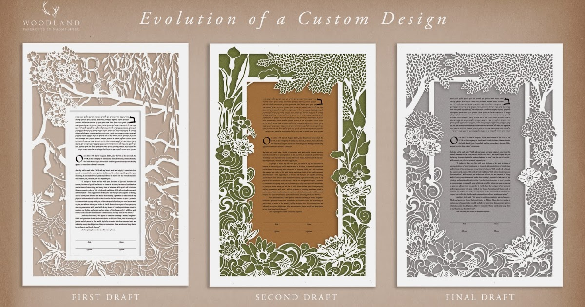 Woodland PapercutsCustom OrderFlowers  Waves \ Four Seasons