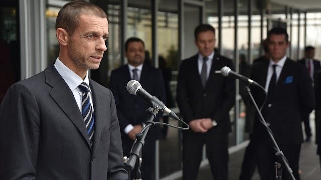 UEFA-Präsident Čeferin besucht Mazedonien
