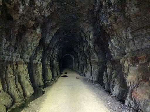 Stewart Tunnel on the Badger State Trail