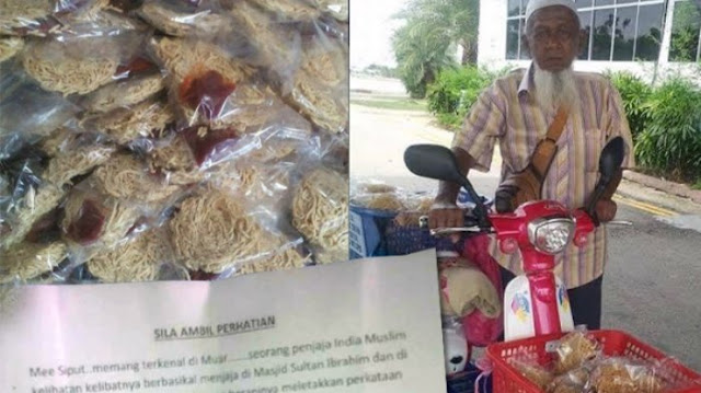 Akibat Surat Kaleng, Dagangan Penjual Kerupuk Mie Ini Tidak Laku, Nasibnya Kini Sungguh Menyedihkan