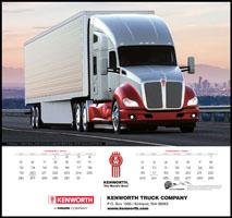 Kenworth Trucks 2020 Wall Calendar