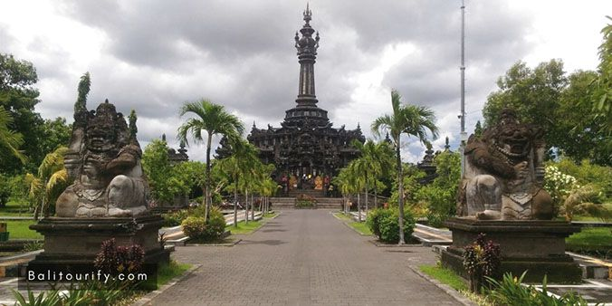 Bajra Sandhi Monument, Half Day Denpasar City and Tanah Lot Temple Tour and see the Sunset