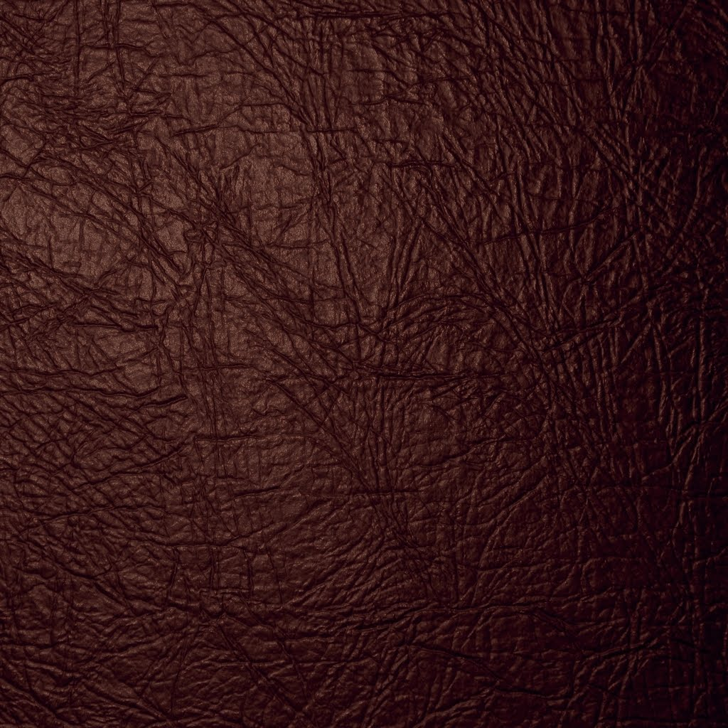 Beauty Re-Rendered: iPad Leather Wallpaper