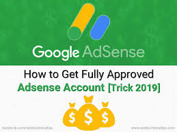 Adsense Approval guides in 2019