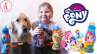Бутылочки с напитком и игрушками для детей Surprise Drinks